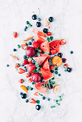 Fresh fruit (NU SKIN HKMC) Tags: background berry blueberry bright cherry colorful delicious dessert diet food fresh fruit green group health healthy juicy mix mixed natural nutrition orange organic peach raw red ripe slice strawberry summer sweet vegetarian vitamin watermelon lifestyle wellness