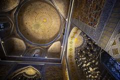 The Magnificent Ceiling Of Gur-e Amir, Samarkand (El-Branden Brazil) Tags: timur gureamir samarkand uzbekistan asia centralasia islam mausoleum tomb sacred holy
