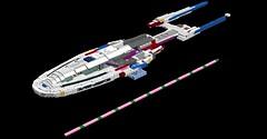 Some Progress... (ORION_brick) Tags: wip ship shiptember star trek fidelity concurrence uss ufs render ldd