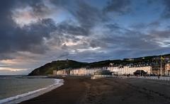 Later on that evening... (RWYoung Images) Tags: rwyoung olympus em1mk11 wales aberystwyth evening building sea seashore street urban
