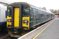 153318 (johnmorris13) Tags: class153 153318 firstgreatwestern fgw