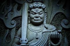 A Dharma Protector At Yamaguchi Kannon Temple, Tokorozawa (El-Branden Brazil) Tags: buddhism buddhist japan japanese religion asia asian buddha bodhisattva kannon avolvakiteshvara sacred tokorozawa saitama