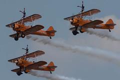Aerosuperbatic Wingwalkers, Farnborough 2018 (Peter Cook UK) Tags: 2018 breitling aircraft circus aviation flying show farnborough wing air airshow wingwalkers walkers aerosuperbatic