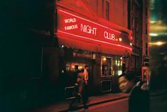 Club. (Paul_Munford) Tags: film grain analogue olympusxa agfavista200 lowlight london streetphotography filmisnotdead
