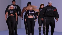 The crew is back! (stefka hadid) Tags: dancing crew love 3d drake us secondlife kiki