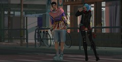 Street wear (drayton.miles) Tags: second sl secondlife mesh edgar edward franz wolfram kelsey fashion street style clash japan pastel weird bttb asian asia oriental punk tattoo tattoos
