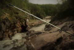 backlash!!! (KvikneFoto) Tags: ya ydalen fiske fishing natur nikon1j2 kvikne hedmark norge
