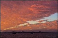 Sunset Cloud Cover over Deception Bay-2= (Sheba_Also 43,000 photos) Tags: sunset cloud cover over deception bay