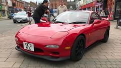 RX-7 (Sam Tait) Tags: lowered fast rare retro classic red car sports sport rotary rx rx7 mazda