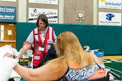20180808.10802 (Red Cross Gold Country Region) Tags: americanredcross redding shastacollege shastacounty shelter
