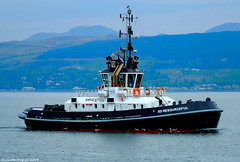 Scotland Greenock tug SD Resourceful 18 May 2018 by Anne MacKay (Anne MacKay images of interest & wonder) Tags: scotland greenock sea ship ttug sd resourceful xs1 18 may 2018 picture by anne mackay