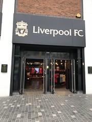 Liverpool FC Fan Shop - Liverpool, England (firehouse.ie) Tags: shankleysarmy reds anfield fan stores store shops fanshop fans supporters koprule shop liverpoolfc england merseyside liverpool williamsonsquare