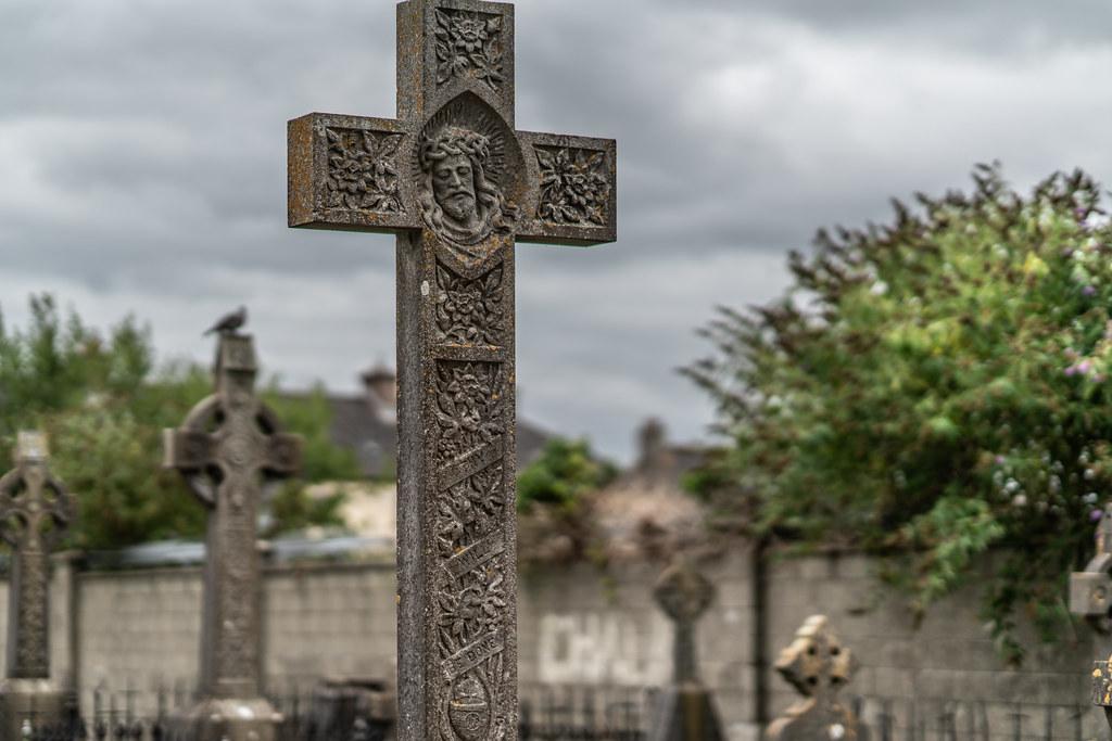 OLD CHURCHYARD KNOWN AS ST. JOHN'S [DUBLIN ROAD KILKENNY]-142898