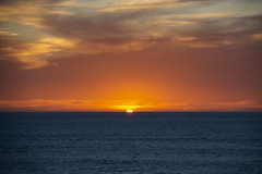 Last Minute Sunset (Rudi Pauwels) Tags: danmark denmark sverige sweden schweden kattegatt sunset evening midsummer2018 clouds water sun orange zoom tamron 18270mm tamron18270mm nikon d7100 nikond7100