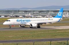 Embraer ERJ -195LR AIR EUROPA EC-LEK 19000344 Francfort mai 2018 (Thibaud.S.) Tags: embraer erj 195lr air europa eclek 19000344 francfort mai 2018