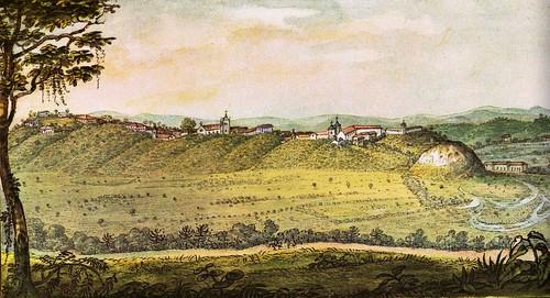 Debret: Vista Geral da Cidade de São Paulo, 1827