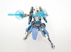 """Ryvern"" Hi-Mobility Experimental Unit (ExclusivelyPlastic) Tags: lego mech mecha bmdcold robot scifi anime"
