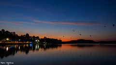 Jeudi étoilé (MarcEnGalerie) Tags: nocturne longexposure fireworks poselongue nightly sunset nocturnal coucherdesoleil feudartifice istres provence france fra