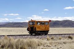 maintenance train altiplano Cuzco - Juliaca Peru 2018 (roli_b) Tags: maintenance rail railway train tren zug bahn peru 2018 la raya pass cuzco cusco juliaca puno titicaca altiplano