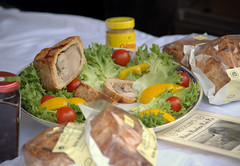 Ploughmans Lunch at Malton Food Festival 2018 (Tony Worrall) Tags: add tag ©2018tonyworrall images photos photograff things uk england food foodie grub eat eaten taste tasty cook cooked iatethis foodporn foodpictures picturesoffood dish dishes menu plate plated made ingrediants nice flavour foodophile x yummy make tasted meal nutritional freshtaste foodstuff cuisine nourishment nutriments provisions ration refreshment store sustenance fare foodstuffs meals snacks bites chow cookery diet eatable fodder packet package stall buy sell sale bought items shop maltonfoodfestival malton porkpie pie salad table