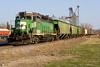 BNSF 2906 Mayville 29 Apr 08 (AK Ween) Tags: bnsf bnsf2906 emd gp39e mayville northdakota mayvillelocal train railroad cascadegreen