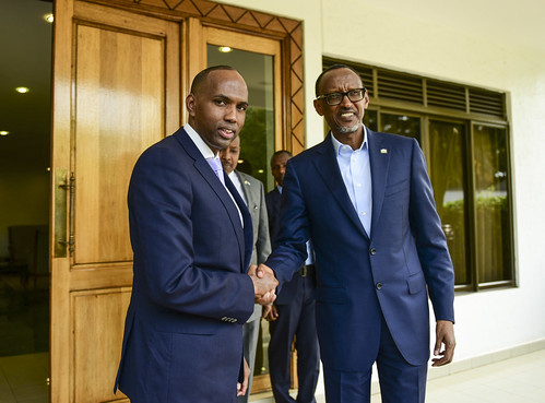 President Kagame meets with Hassan Ali Khayre, Prime Minister of Somalia | Kigali, 25 June 2018