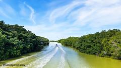 Rio Lagartos-Yucatan-Mexico (johnfranky_t) Tags: rio mangrovie messico yucatan johnfranky t motoscafo cielo acqua nuvole