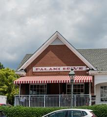Palani Drive Restaurant (nikkorsnapper) Tags: palanidriverestaurant bars restaurants streetlamps streetlights stripedawnings richmondvirginiausa