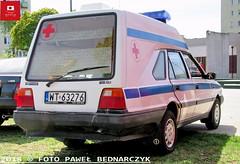 WT 63276 - FSO Polonez Cargo/ZTS-Grójec - Własność prywatna (Pawel Bednarczyk) Tags: wt63276 wt 63276 fso polonez cargo zts grójec karetka ambulans własność prywatna wojsko polskie warszawa wawer marysin ambulance carambulance warsaw