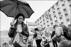 4_DSC4432 (dmitryzhkov) Tags: urban city everyday public place outdoor life human social stranger documentary photojournalism candid street dmitryryzhkov moscow russia streetphotography people man mankind humanity bw blackandwhite monochrome rain autumn badweather