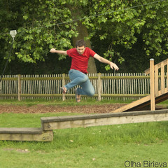 Jump (olha.birieva) Tags: park jump jumps man playground play stop stopaction