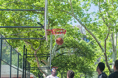 1358_0211FL (davidben33) Tags: brooklyn ny crown height summer 2018 park sport basketball people children 718 plaj joi trees bushes sporting field