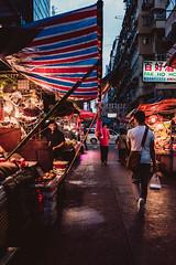 The last hour of erotic party (Scofield Chan) Tags: street streetsnap snapshot streetphoto tone vivid colorful market wet rainy evening hongkong fujifilm 35mm documentary x100f asia japan culture erotic