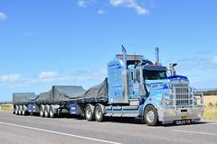 Nightingale Freightlines - Kenworth T909 (Bourney123) Tags: kenworth t909 truck trucks trucking highway haulage diesel interstate