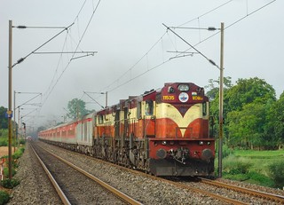 The Gorgeous Twins led 20818 Rajdhani Express !