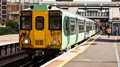 455805 (JOHN BRACE) Tags: 1982 brel york built class 455 emu 455805 seen east croydon station southern livery