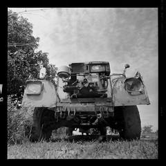 Put Put truck (Matt Jones (Krasang)) Tags: put truck blackandwhite hp5 120film hasselblad zeissdistagon 40mmf4 rodonal standdevelopment