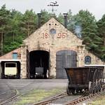1825 rail sidings, Beamish thumbnail