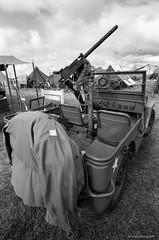 Willys MB (dpsager) Tags: 2018 airventure bw dpsagerphotography eaa eaaoshkoshairshow eos1v film kodak oshkosh portra400bw wisconsin aircraft airplane airshow jeep willysmb osh18