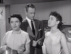 "Jane Wyatt, Robert Young, Elinor Donuhue, Father Knows Best, ""The Motor Scooter,"" 1954 (classic_film) Tags: fatherknowsbest tv comedy sitcom television 1954 fifties 1950s época ephemeral entertainment classic clásico blackandwhite retro vintage añejo alt american america usa unitedstates robertyoung actor akteur acteur janewyatt actress actrice actriz aktrice schön schauspielerin elinordonohue beauty girl brunette americana old monochrome nostalgic nostalgia celebrity woman frau mujer hübschefrau hair hübschesmädchen beautiful mujerbonita niñabonita pretty prettygirl elegant fashion clothing clothes style hairstyle wardrobe dress lady jahrgang oll teen"