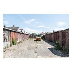 Gorleston, UK, July 2018 (Number Johnny 5) Tags: tamron overgrown nikon decay garages space mundane skip alley urban imanoot banal observations d750 2470mm documenting johnpettigrew