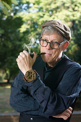 The smoker (dd foto) Tags: nikon d7100 mann man