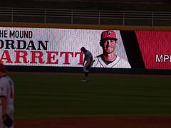 Chavez Young, silhouetted 001 (mwlguide) Tags: baseball midwestleague bowlinggreenhotrods lansinglugnuts ballpark lansing leagues ballyard omd em1ii silhouette sign em1 4203 michigan omdem1mkii olympus 2018 20180814hotrodslugnutsem1raw1184203