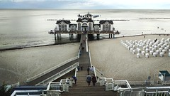 Seebrücke Sellin (=RetroTwin=) Tags: baltic sea ostsee house sellin küste strand beach coast rügen deutschland norden germany 2018 august