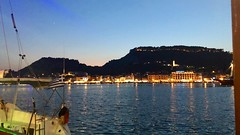 Zakynthos Town at Twilight (RobW_) Tags: twilight yacht mole zakynthos port greece saturday 04aug2018 august 2018