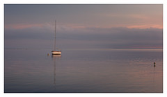 Sea of Tranquility (bprice0715) Tags: canon canoneos5dmarkiii canon5dmarkiii landscape landscapephotography nature naturephotography colors colorful boat sailboat water sky clouds sunrise ocean capecod pointofrocksbeach peaceful serene tranquil tranquility fineart