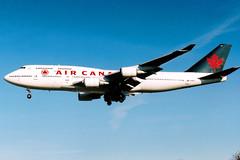 Air Canada | Boeing 747-400 | C-FCRA | London Heathrow (Dennis HKG) Tags: aircraft airplane airport plane planespotting staralliance london heathrow egll lhr aircanada canada aca ac boeing 747 747400 boeing747 boeing747400 cfcra