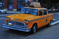 Checker NYC Taxi (Triborough) Tags: ny nyc newyork newyorkcity kingscounty brooklyn williamsburg taxi nyctaxi checker