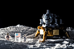 The Eagle Has Landed (grzegorz.s) Tags: apollo eagle moon lander saturn lego 1968 space
