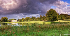 After the rain (stewartl2010) Tags: countryside rainclouds goldenhour colorefexpro4 landscape nikfilters peaceful avington shadows hampshire countrypark trees lake tranquil uk statelyhome england unitedkingdom gb